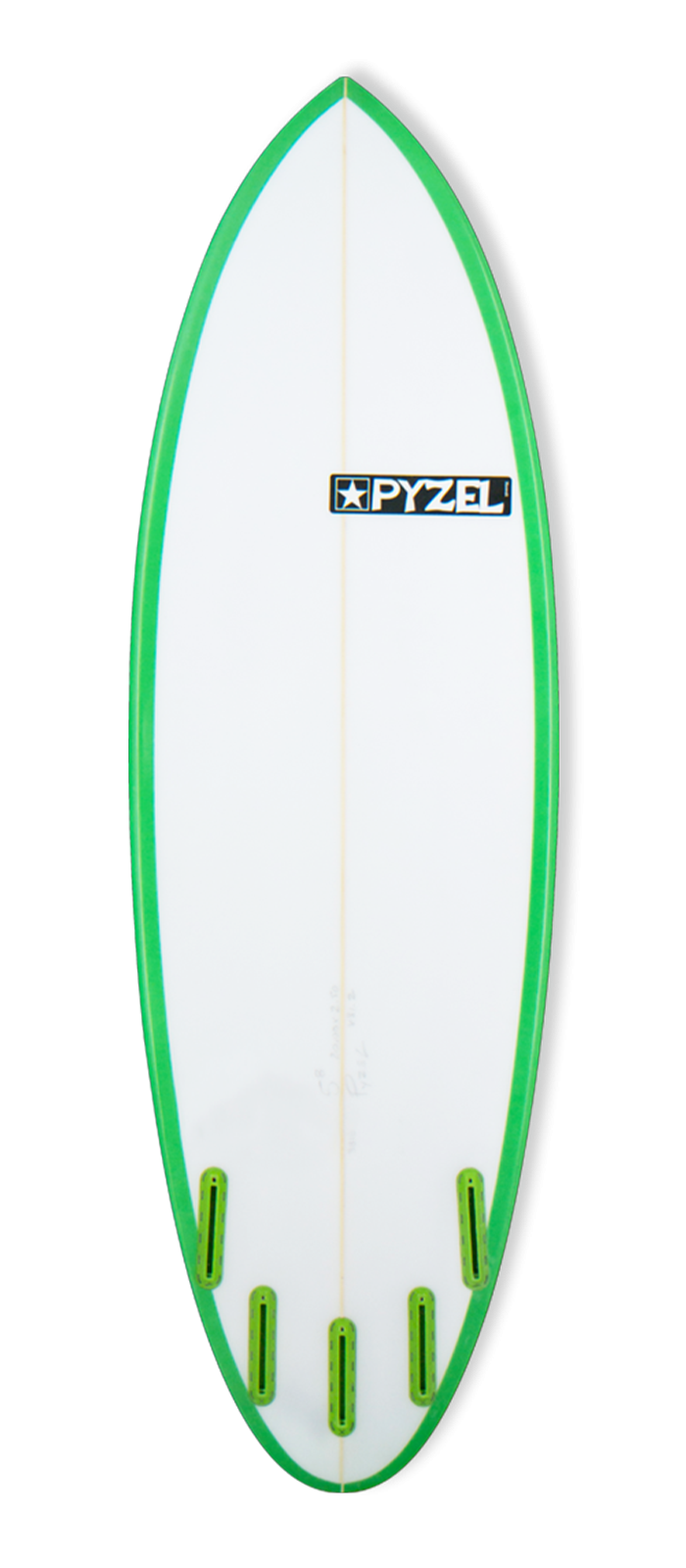 THE NUGGET surfboard model bottom