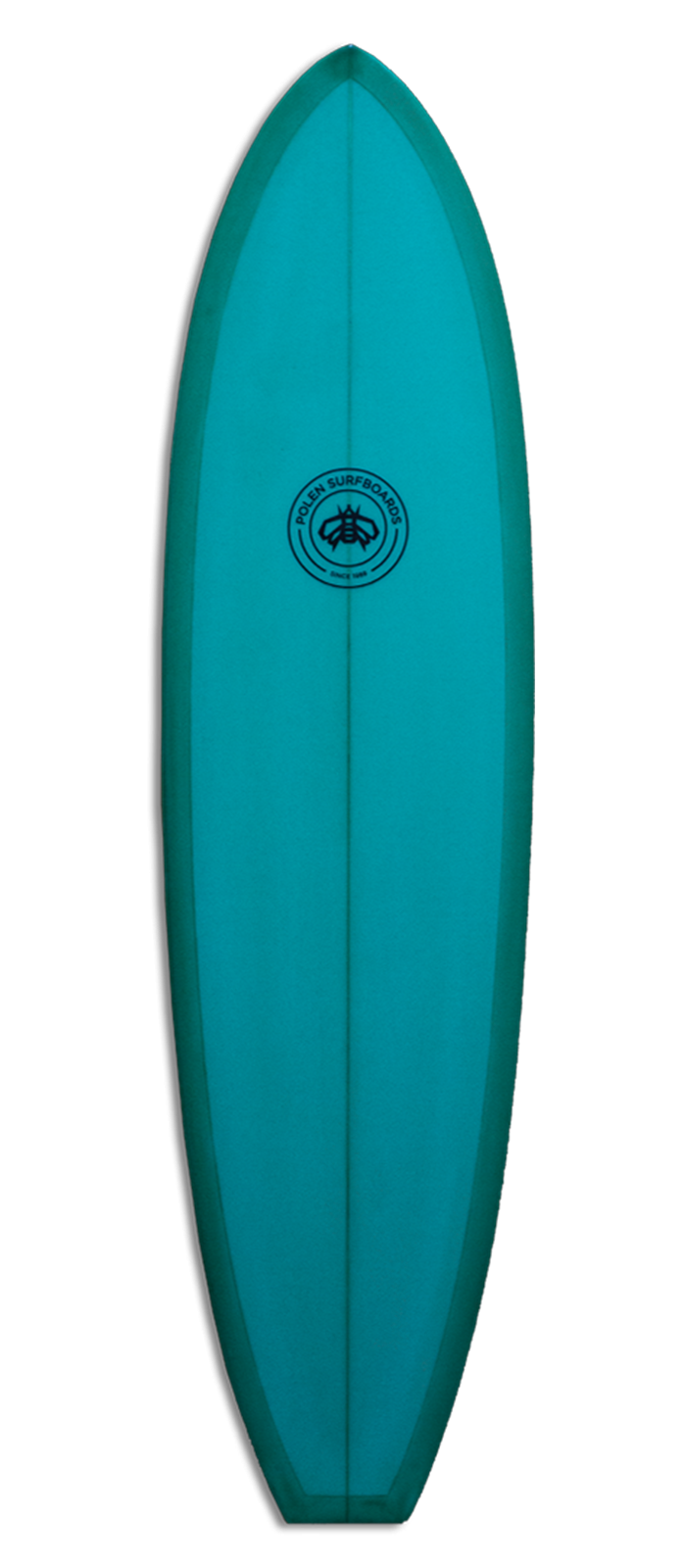 REBEL GRACE surfboard model deck