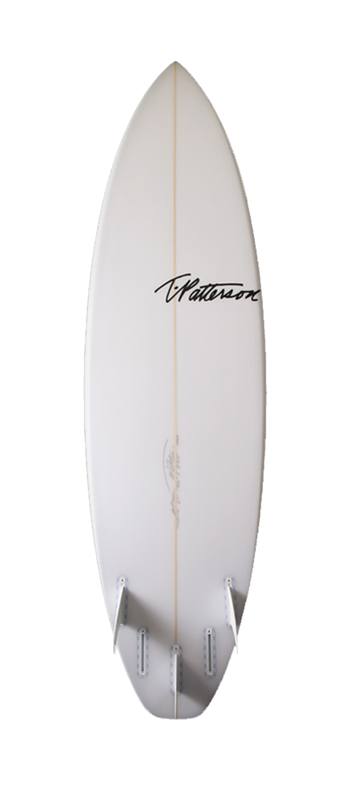 XXX surfboard model bottom