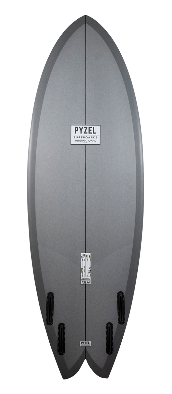 ASTRO surfboard model bottom