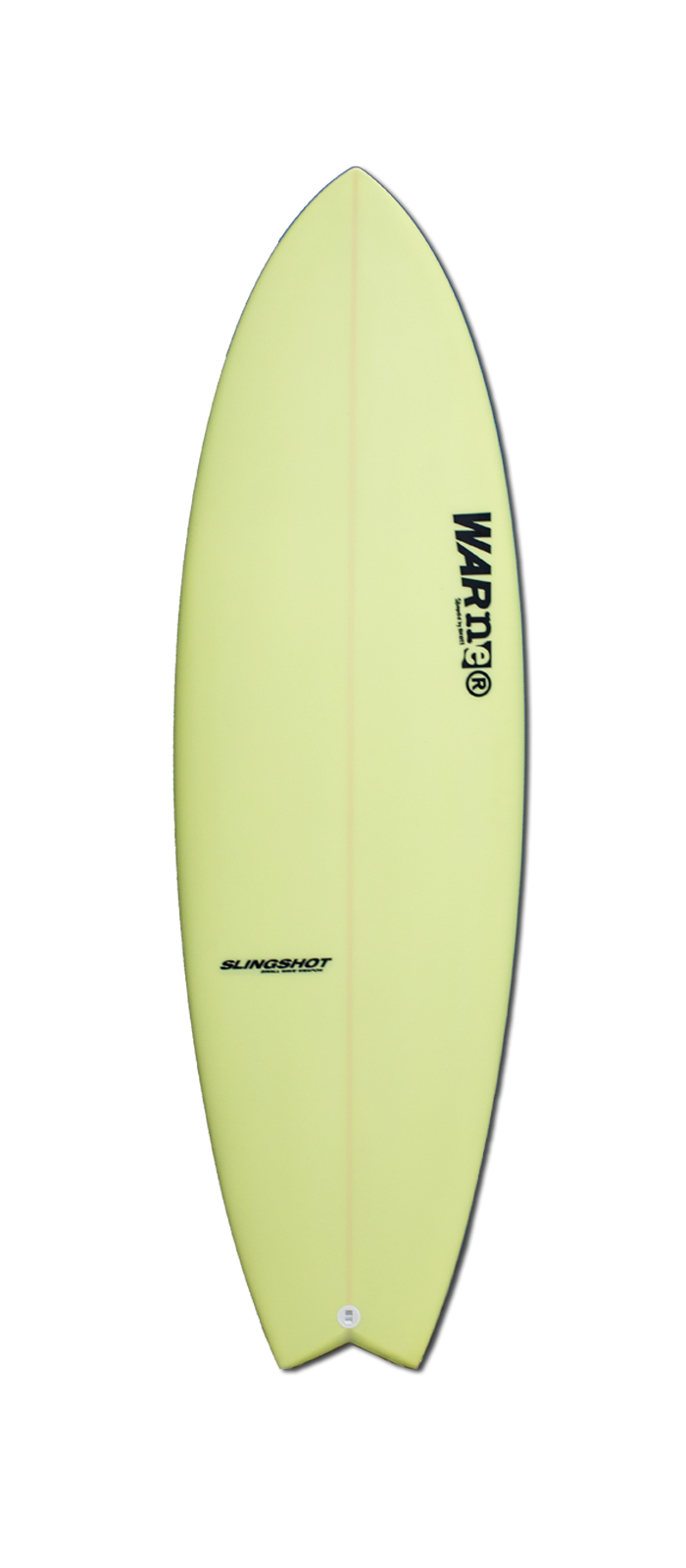 SLINGSHOT surfboard model deck