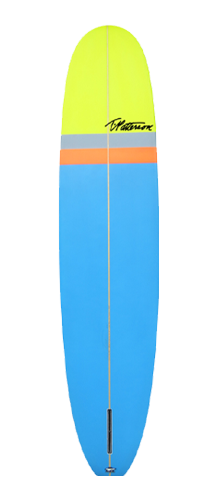 California Classic surfboard model bottom