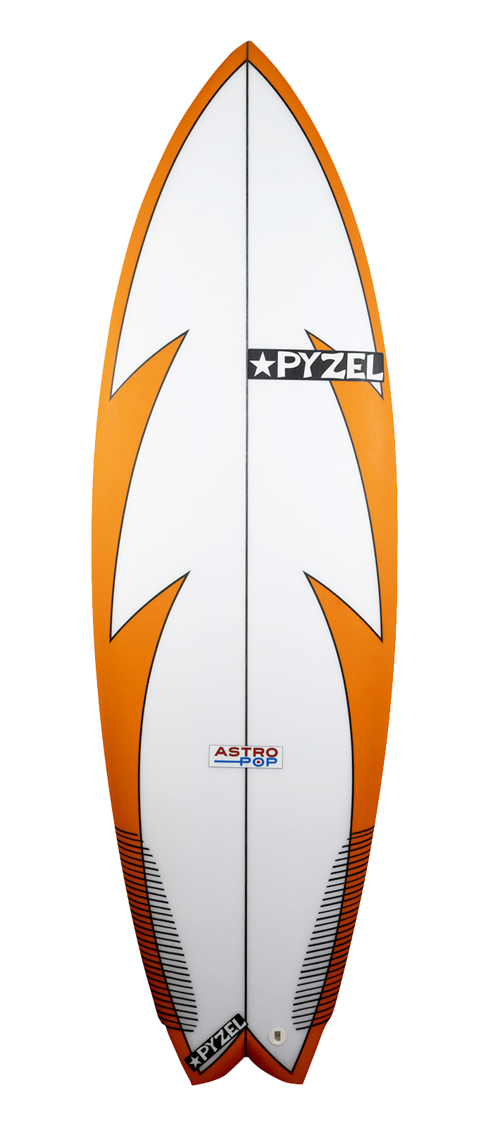ASTRO POP surfboard model deck