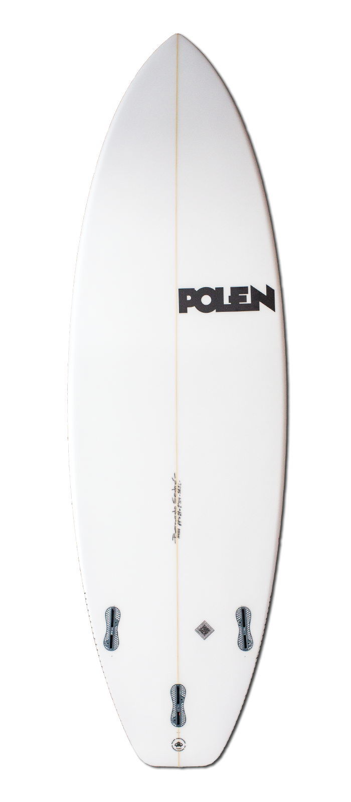 R*EVOLUTION surfboard model bottom