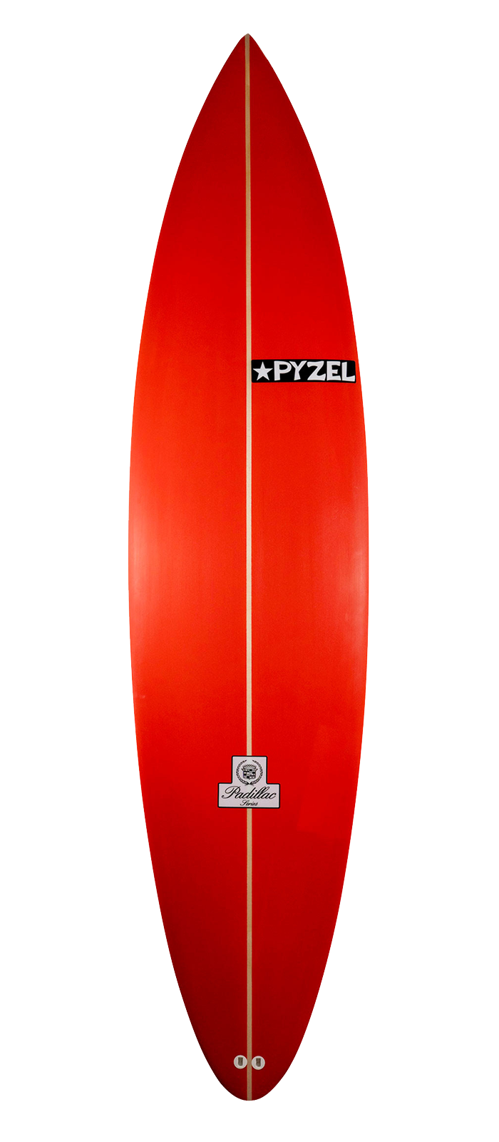 PADILLAC surfboard model deck