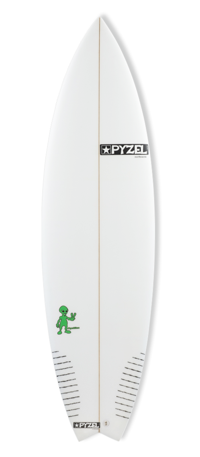 PYZALIEN surfboard model