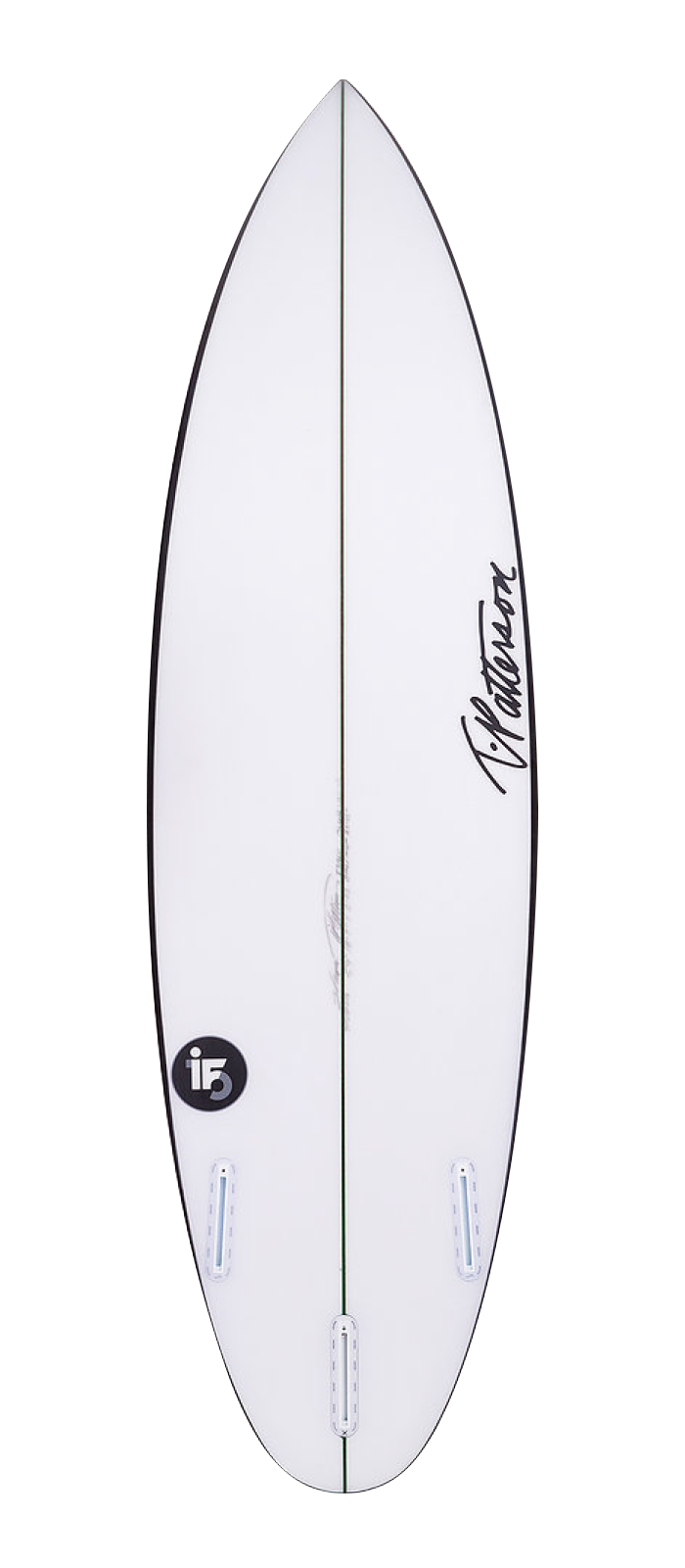 IT-15 surfboard model bottom