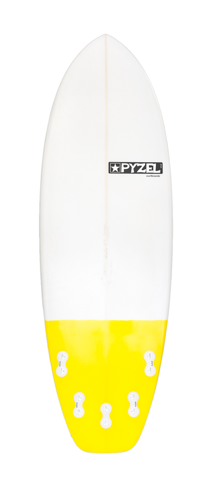 RAT SKULL surfboard model bottom