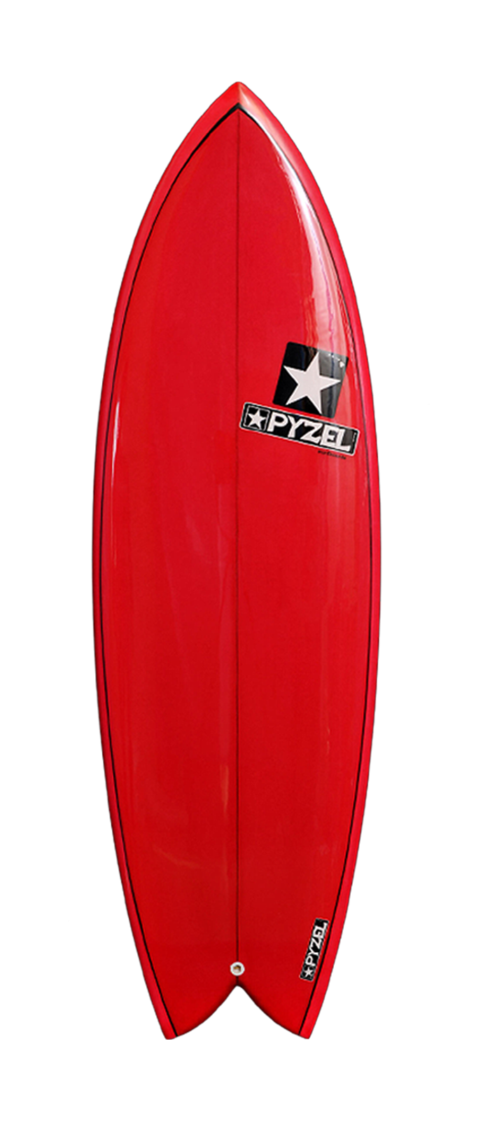 Astro Glider surfboard model deck