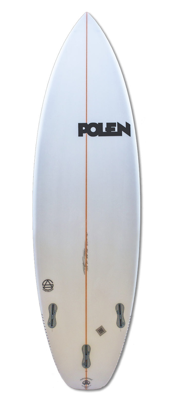 THE ONE surfboard model bottom