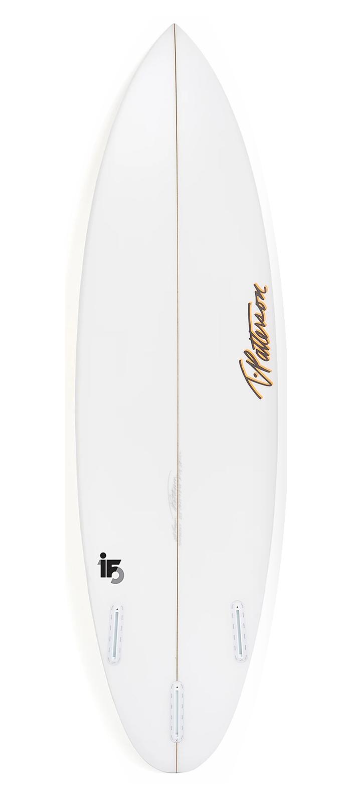 IF-15 surfboard model bottom