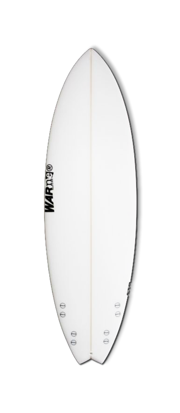 FTR surfboard model deck