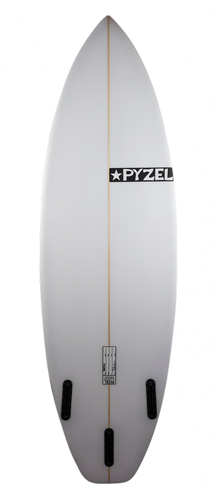 PHANTOM XL surfboard model bottom