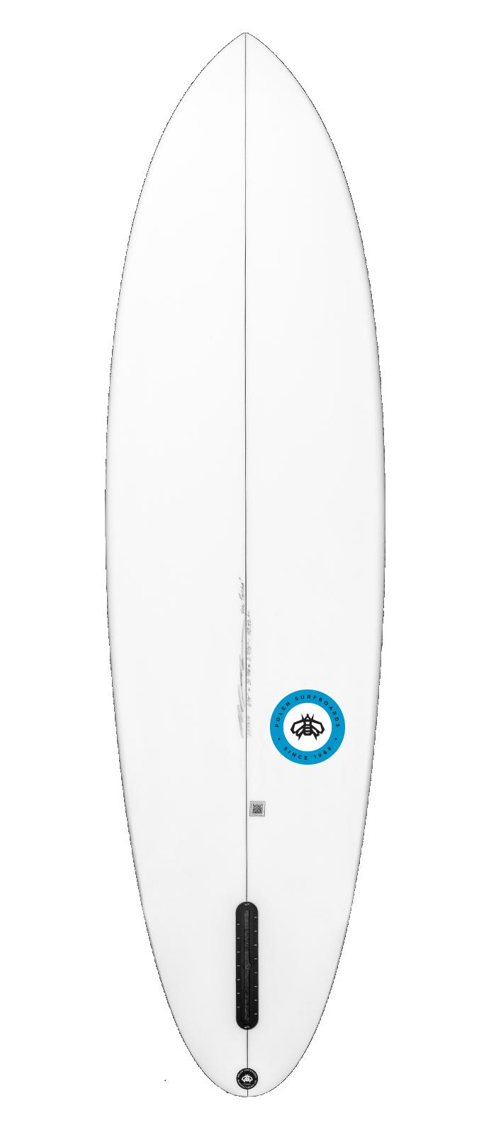 FAST SLICE surfboard model bottom
