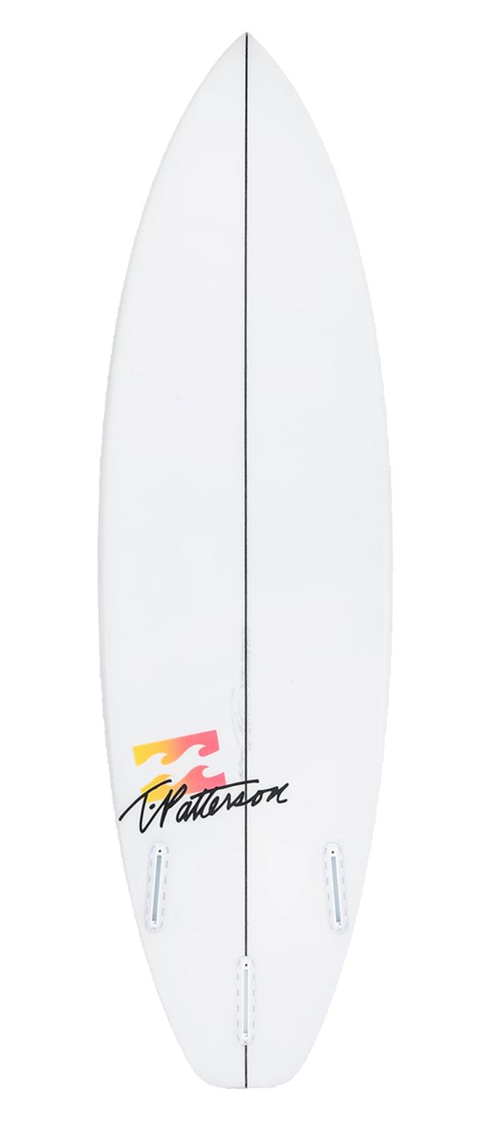 STOKE-ED surfboard model bottom