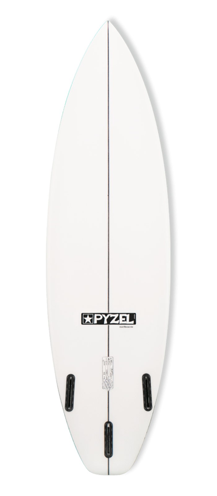 74 surfboard model bottom