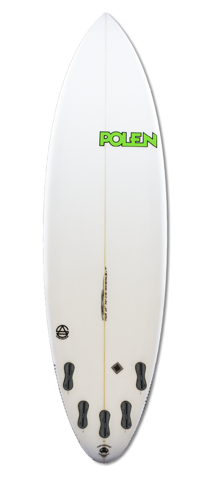 THE BOX surfboard model bottom