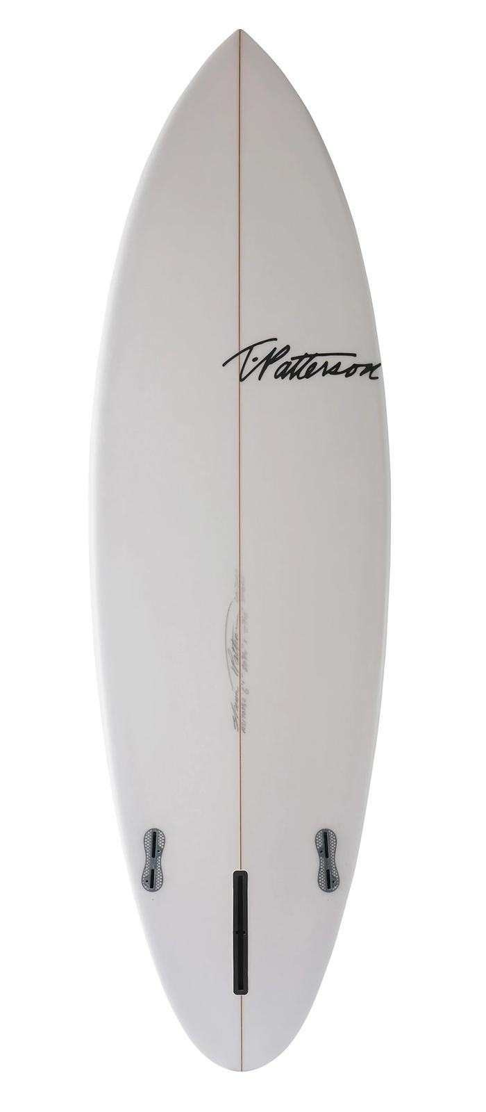 SINGLE FIN surfboard model bottom