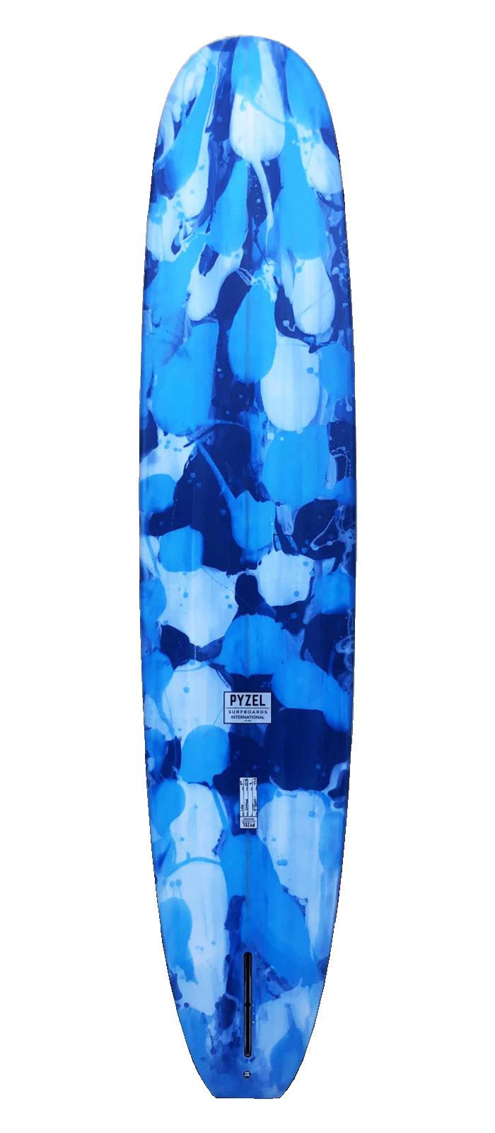 LOG surfboard model bottom
