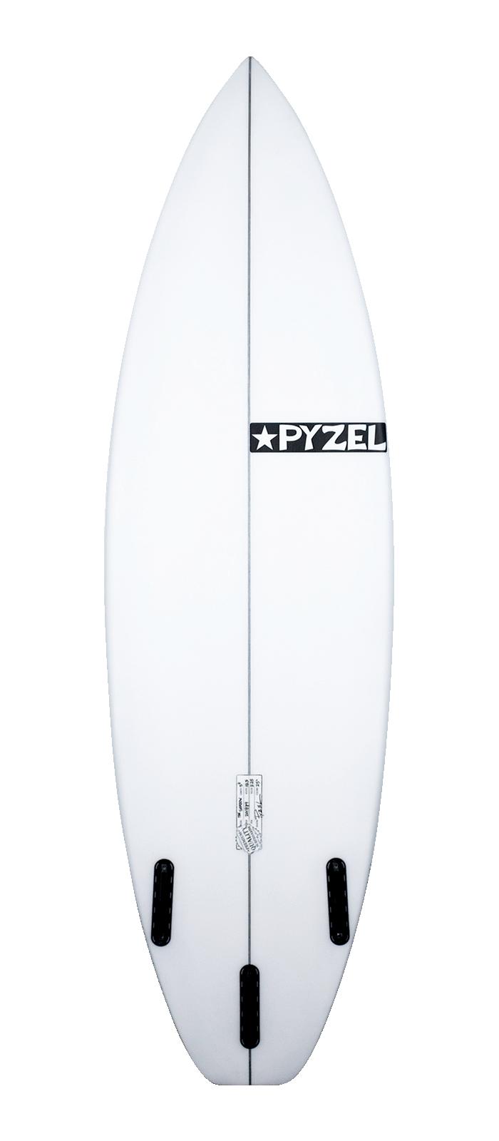 SHADOW XL surfboard model bottom