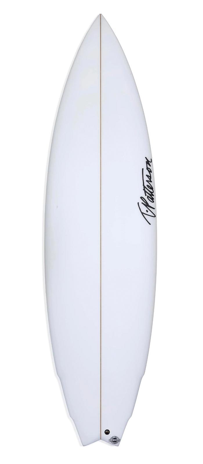 BUILT FOR SPEED surfboard model