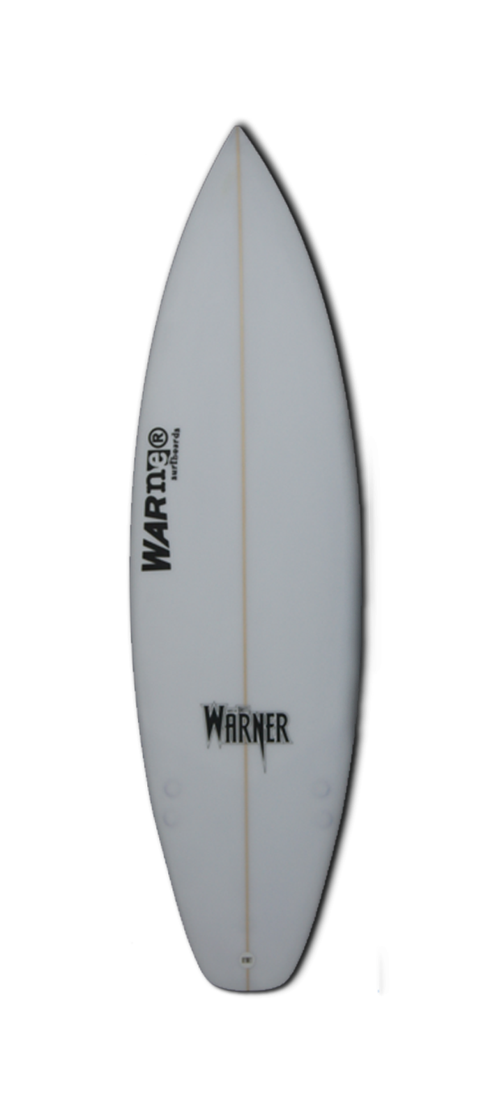 WILD CHILD surfboard model bottom