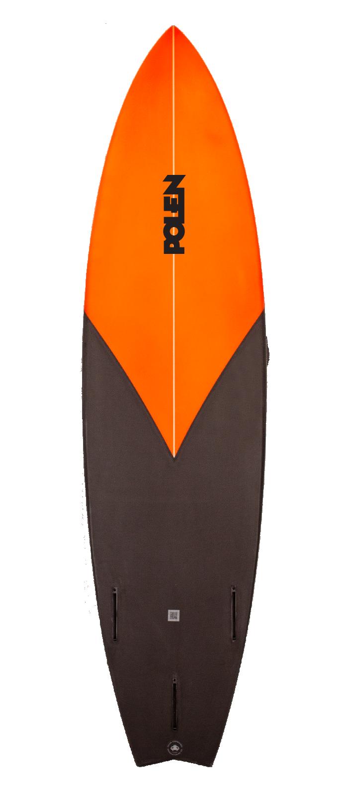 CANNONBALL surfboard model bottom