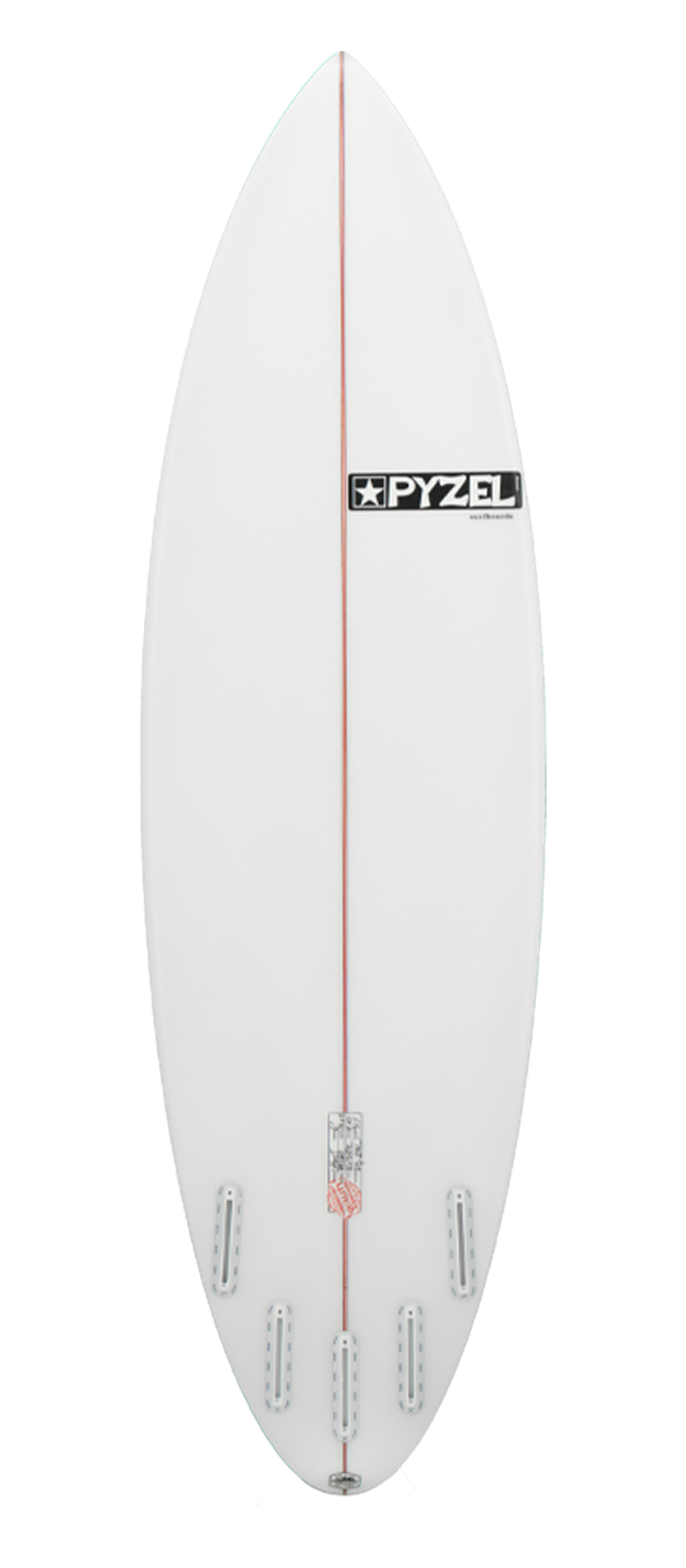 GROM GHOST surfboard model bottom