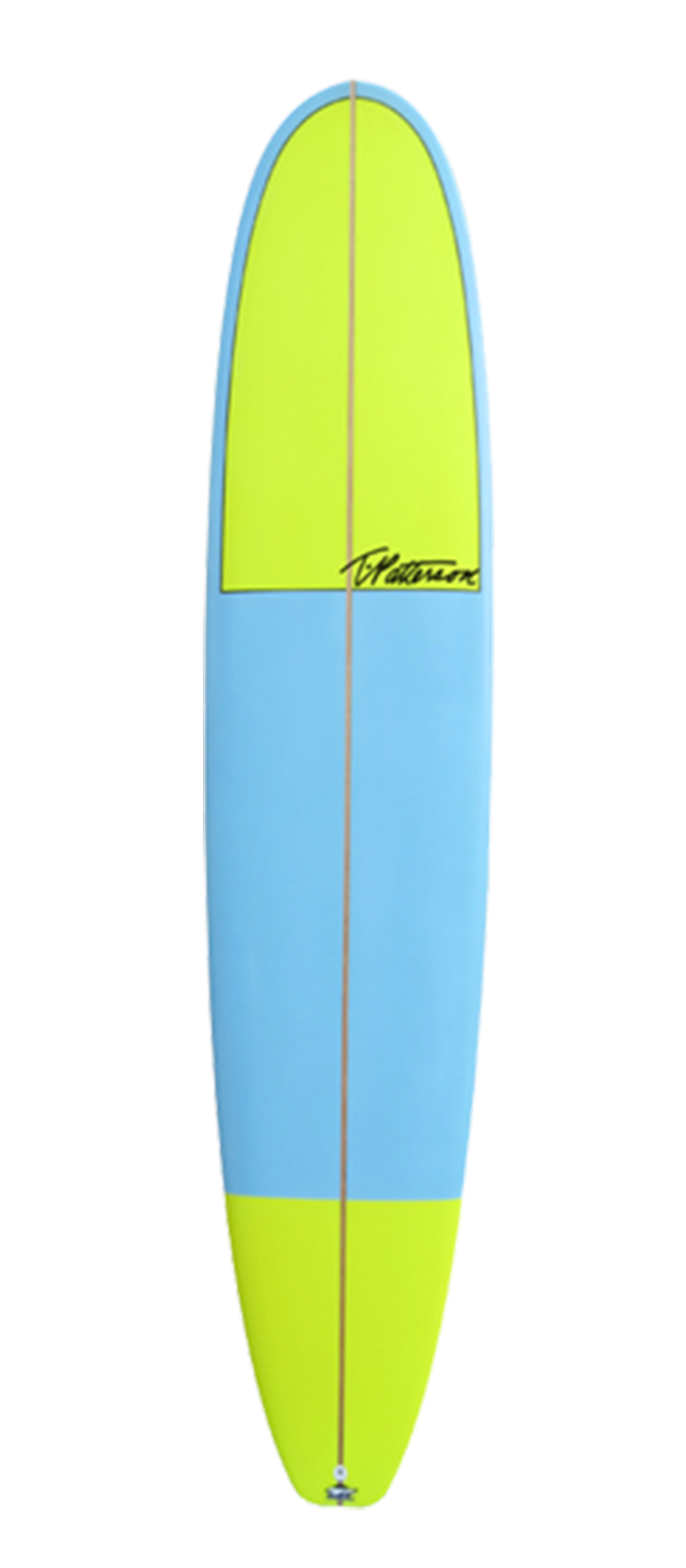 Cali Noserider surfboard model bottom
