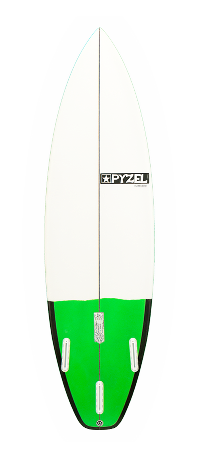 THE BASTARD surfboard model bottom