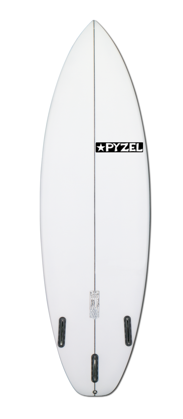 PHANTOM surfboard model bottom
