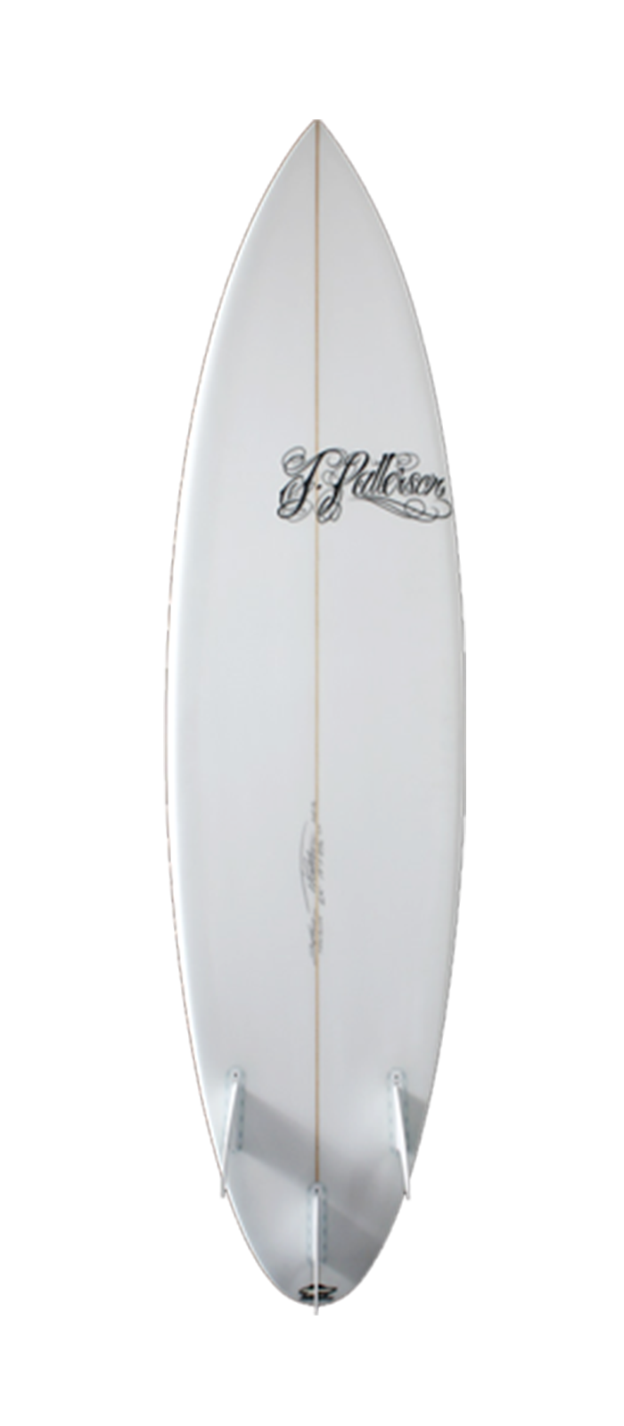 Step Up surfboard model bottom