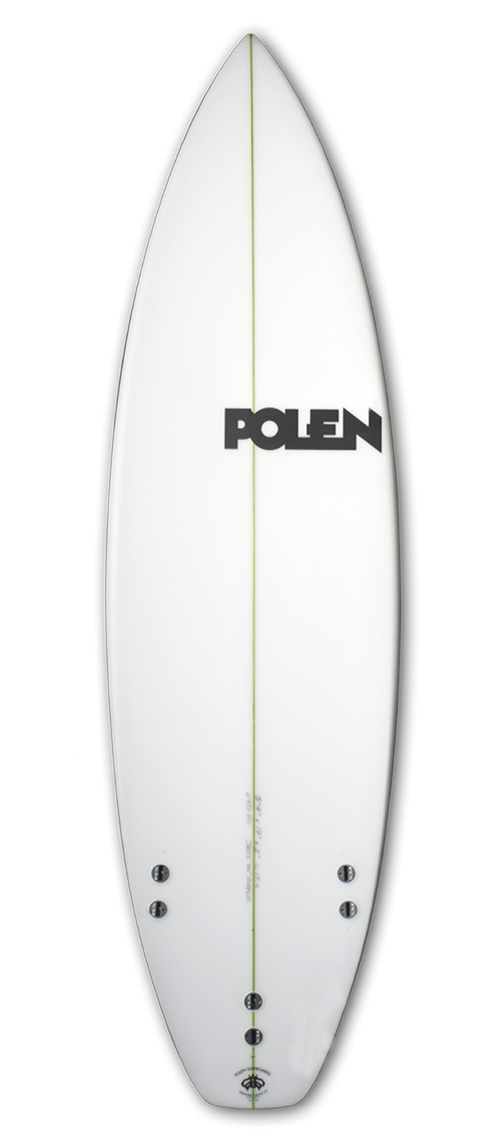 SLANG surfboard model bottom