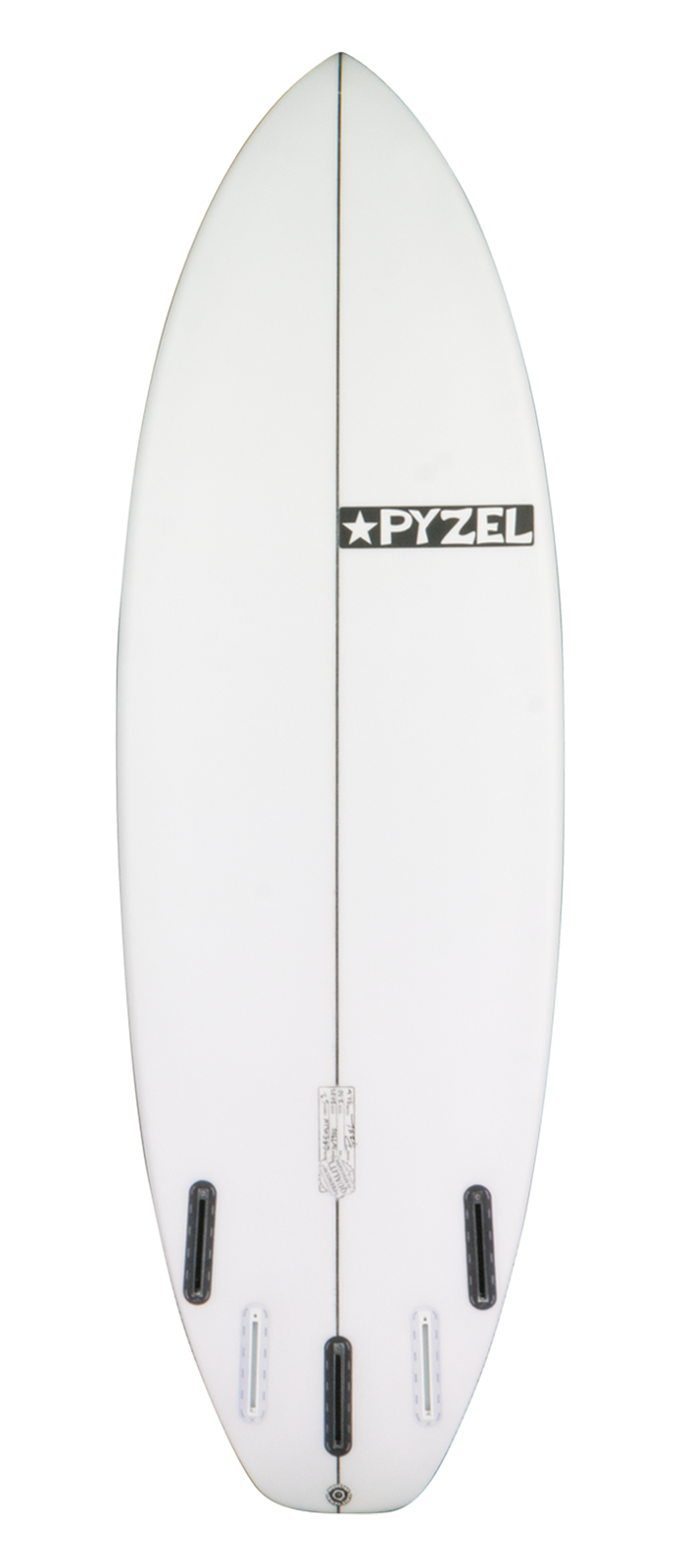 GROMLIN surfboard model bottom