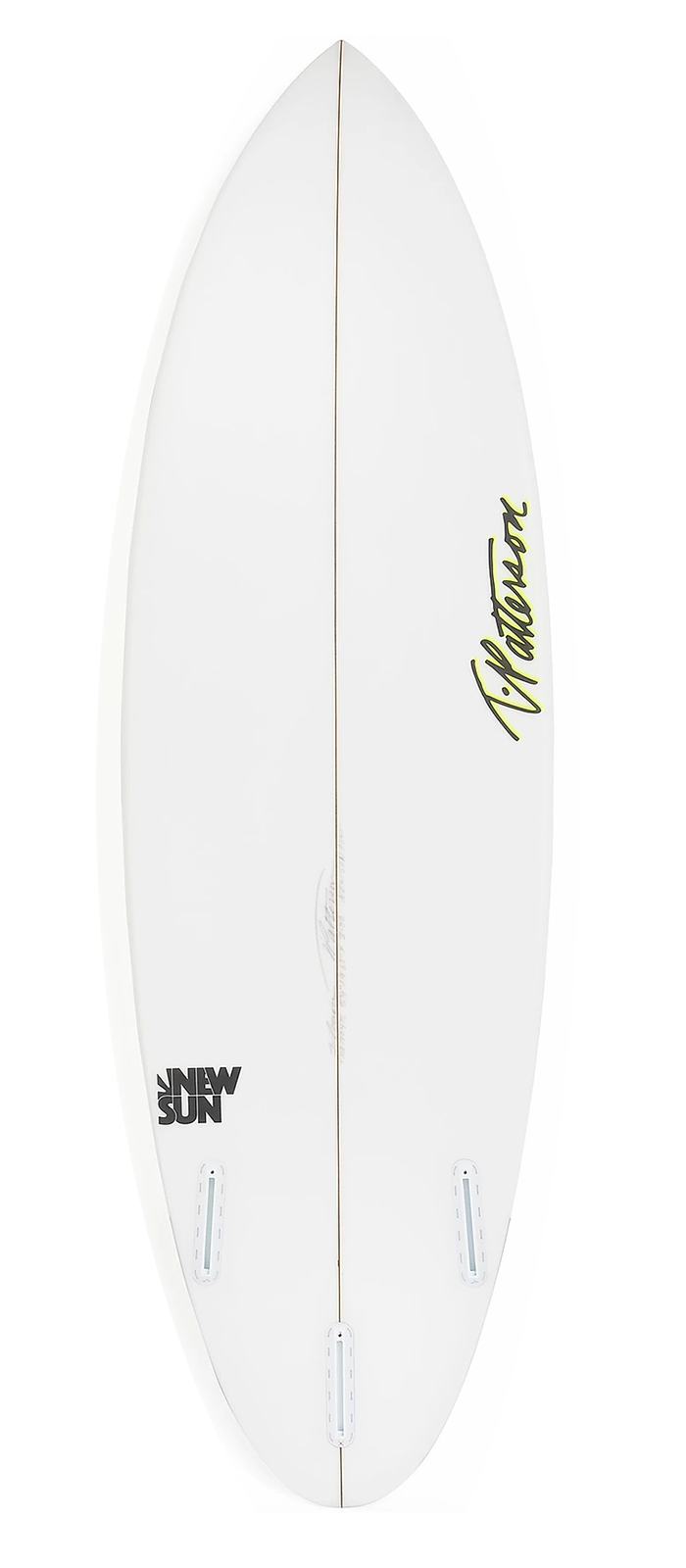 NEW SUN surfboard model bottom