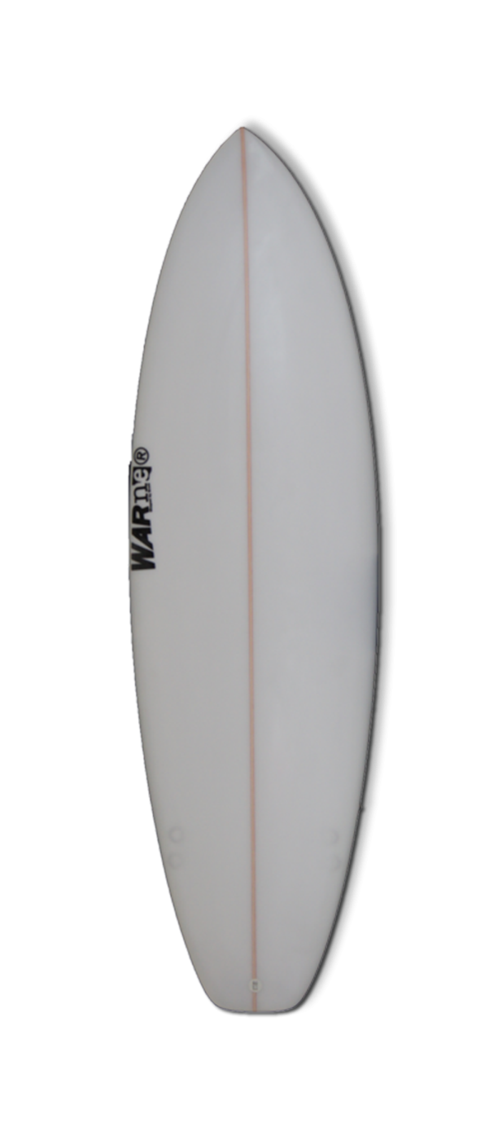 SEA BOP surfboard model bottom