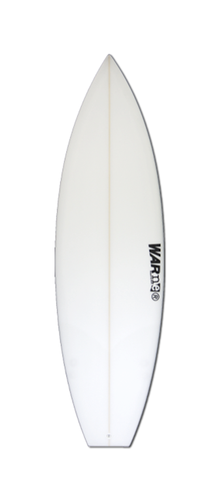 EVIL TWIN surfboard model bottom