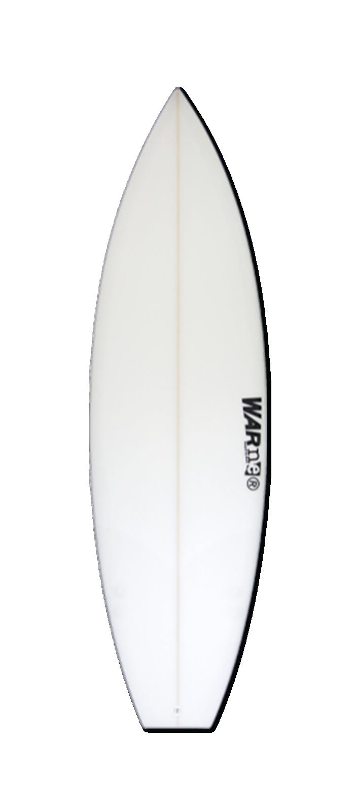 EVIL TWIN surfboard model bottom