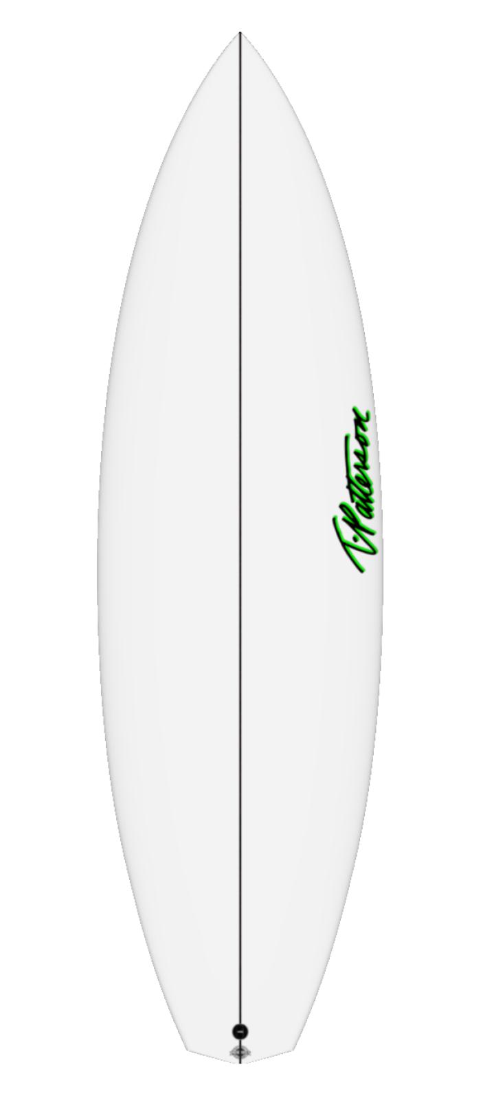 X FILE TWO surfboard model