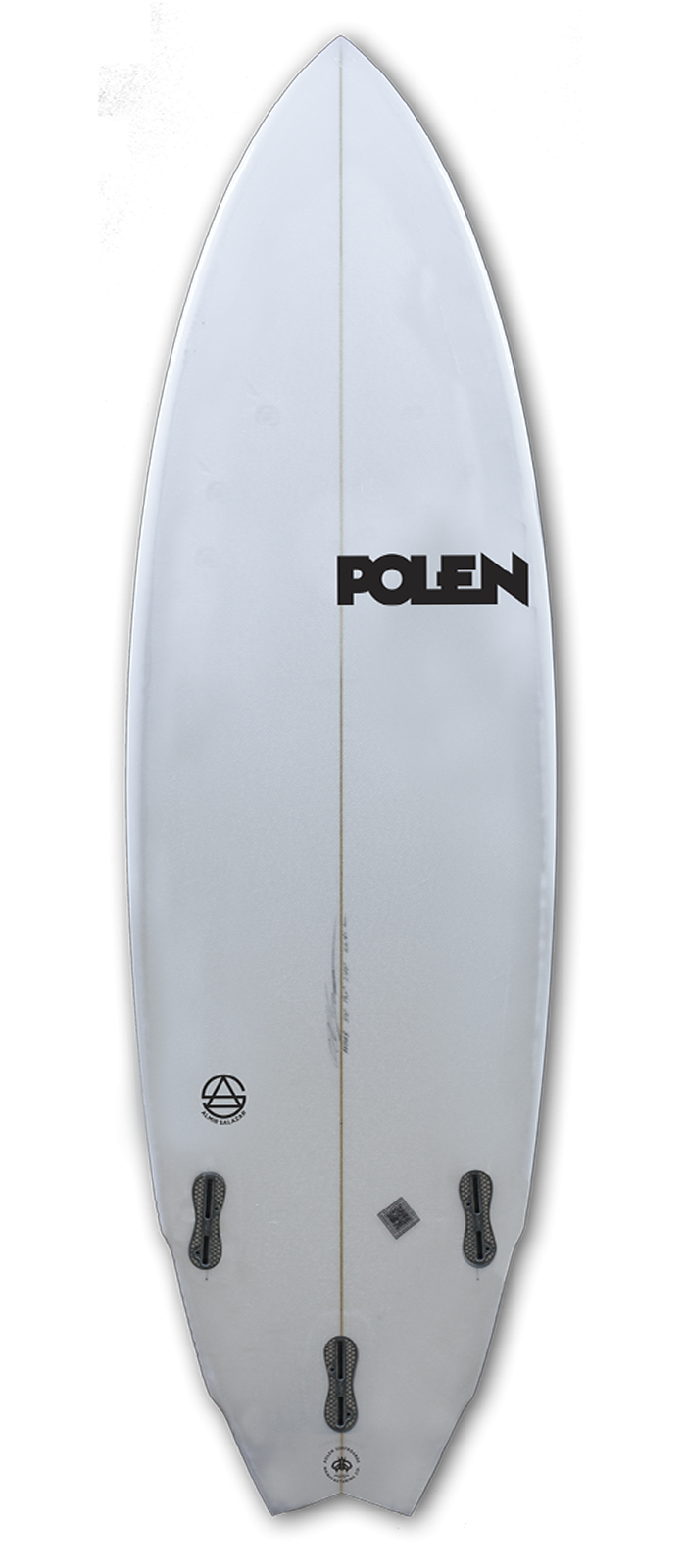 FEATHER surfboard model bottom