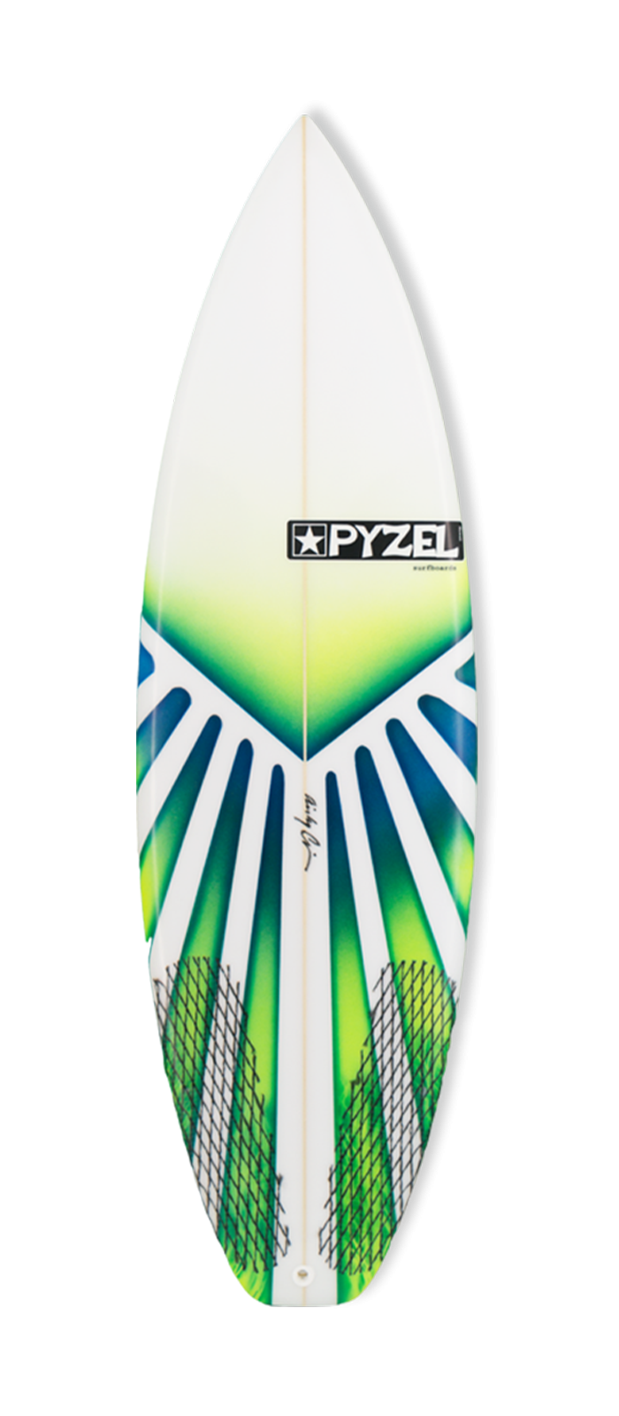 SUPER GROM surfboard model deck