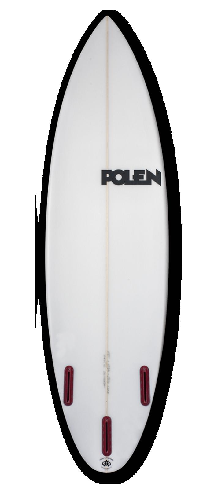 MARGARITA surfboard model bottom