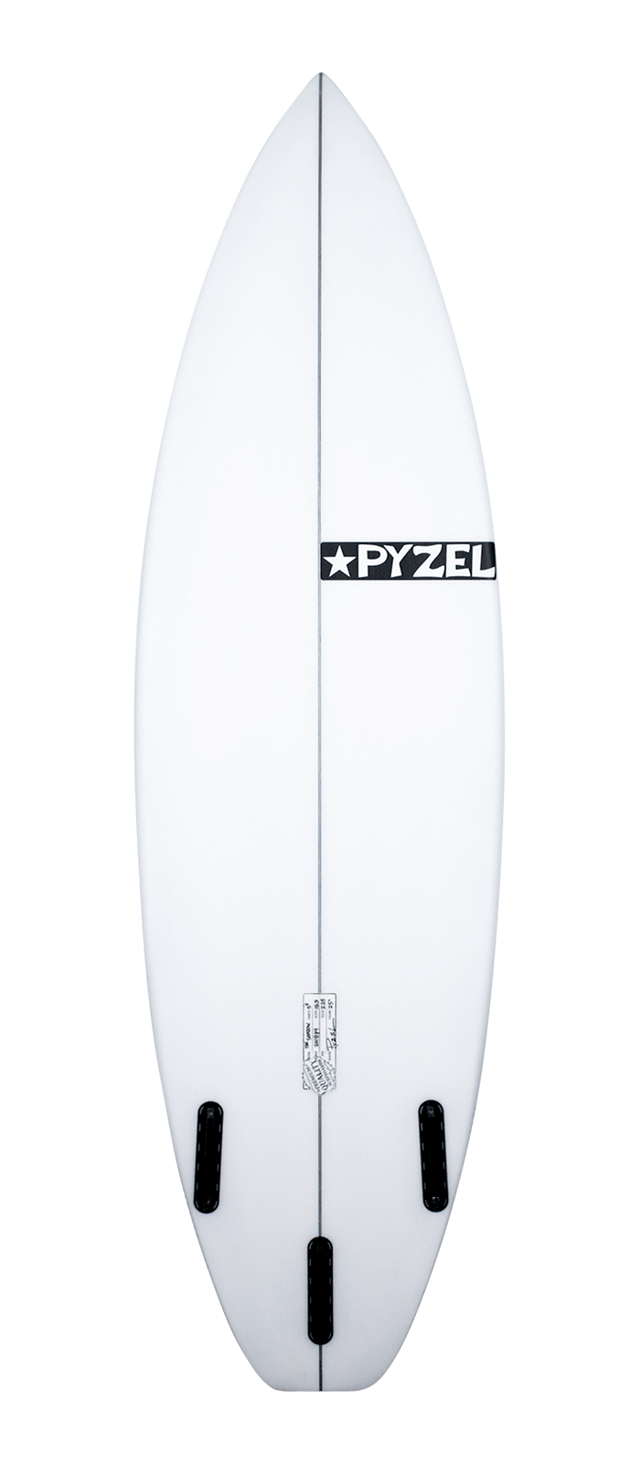 SHADOW surfboard model bottom