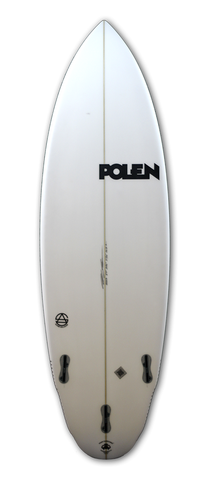 ARION surfboard model bottom