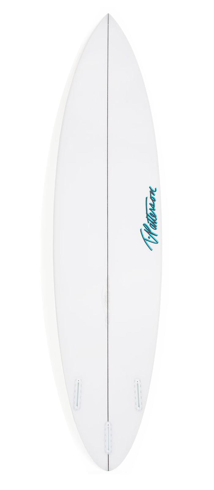 STEP UP surfboard model bottom