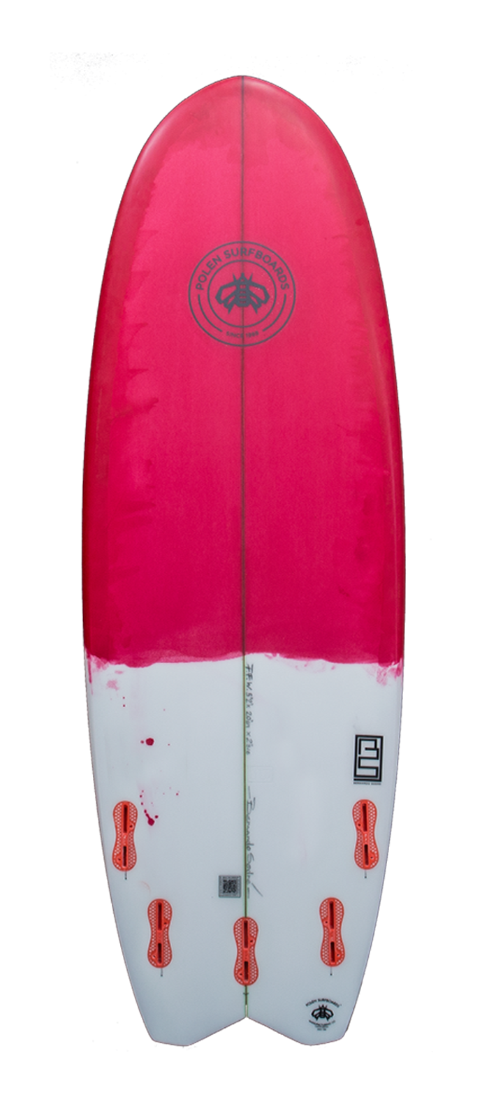 FAST FORWARD surfboard model bottom