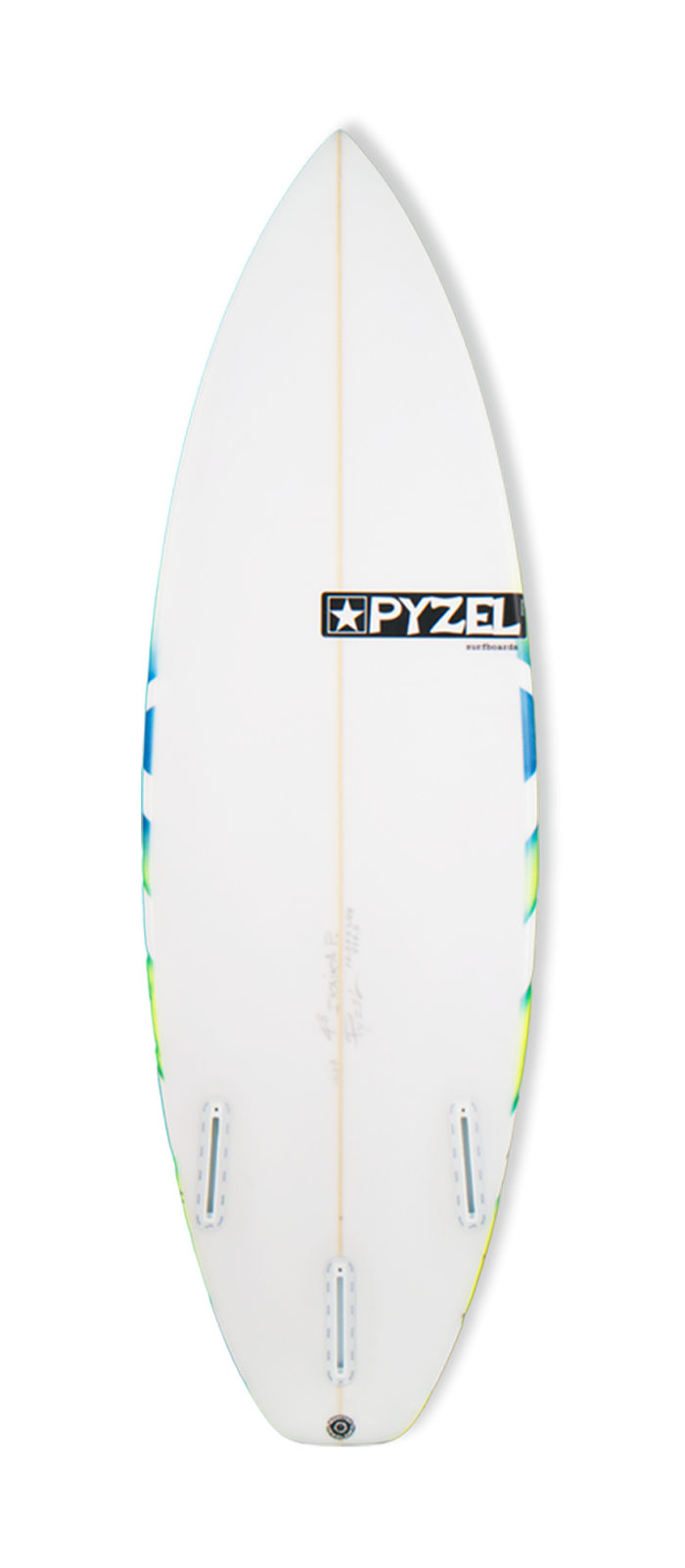 SUPER GROM surfboard model bottom