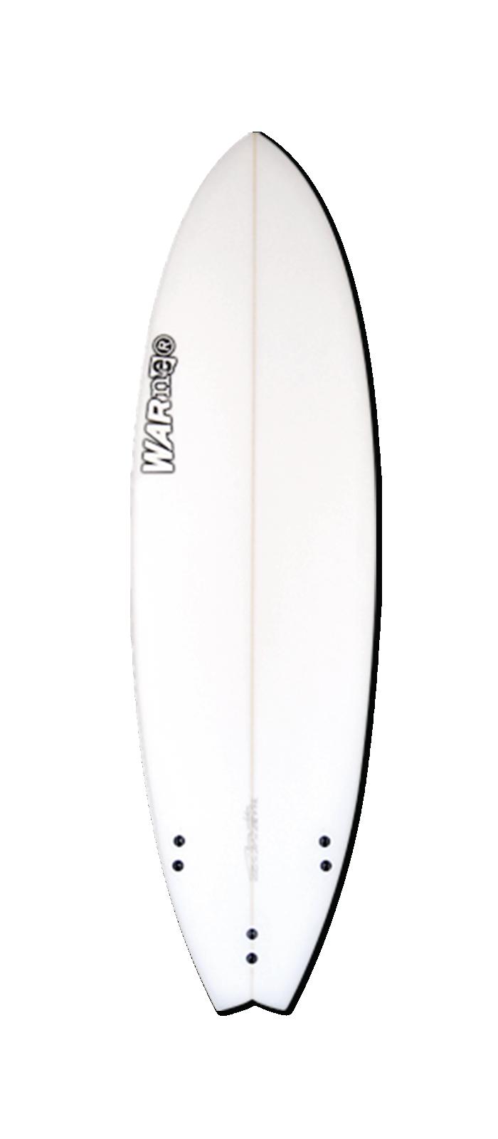 FTR surfboard model bottom