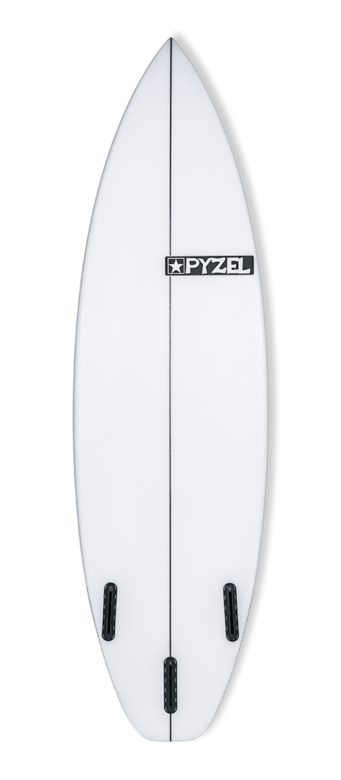 RADIUS surfboard model bottom