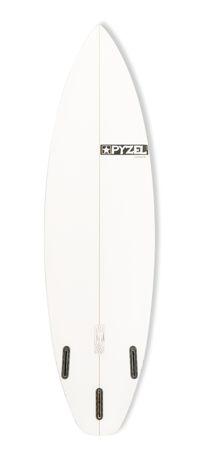 VOYAGER 1 surfboard model bottom